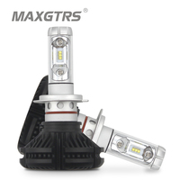 Super Bright H7 Car Headlight Light 50W ZES LED Headlamp Fog Driving Lamp Auto Front Bulb