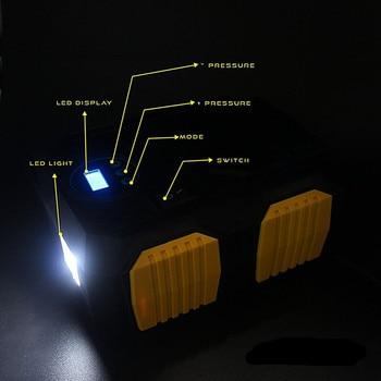 E-ACE 12V 150PSI Car Tire Air Compressor with LED Flashlight