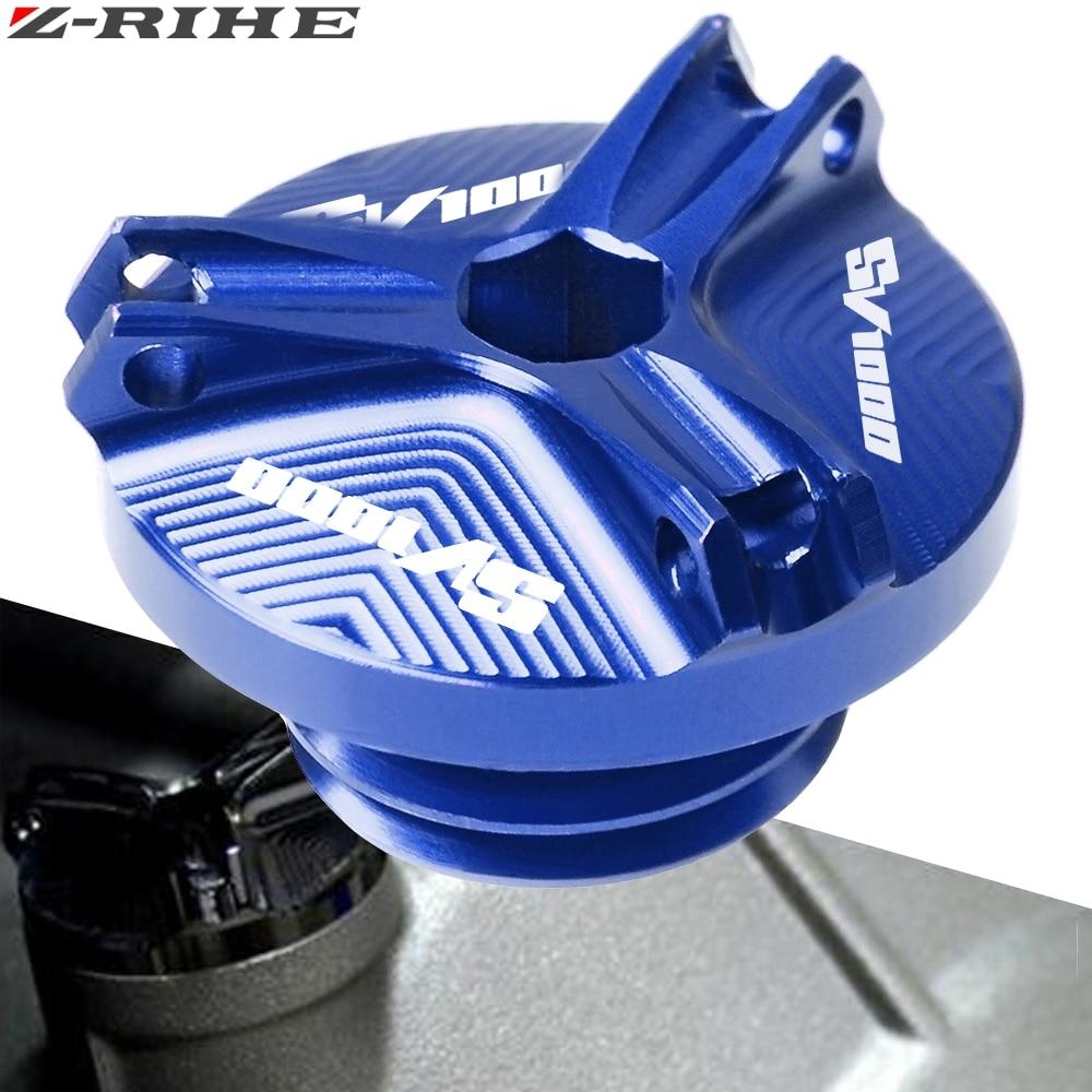Для Suzuki SV650 SV 650 S SV1000 SV 1000 аксессуары для мотоциклов для SV 1000 штепсельная вилка масляного слива для двигателя чашка для орехов Крышка Штепсел...