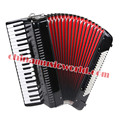Afanti High-grade 41 Keys 120 Bass Black inflexion Accordion (AFJH-01)