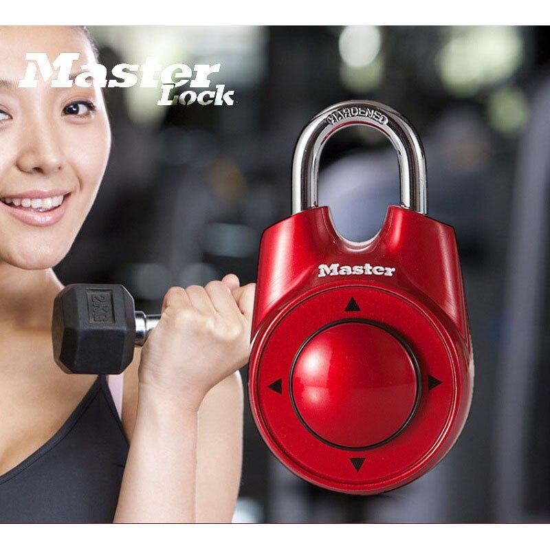 Master Lock gimnasio del Club de salud escolar combinación de contraseña direccional candado armario puerta cerradura portátil surtidos colores venta al por mayor