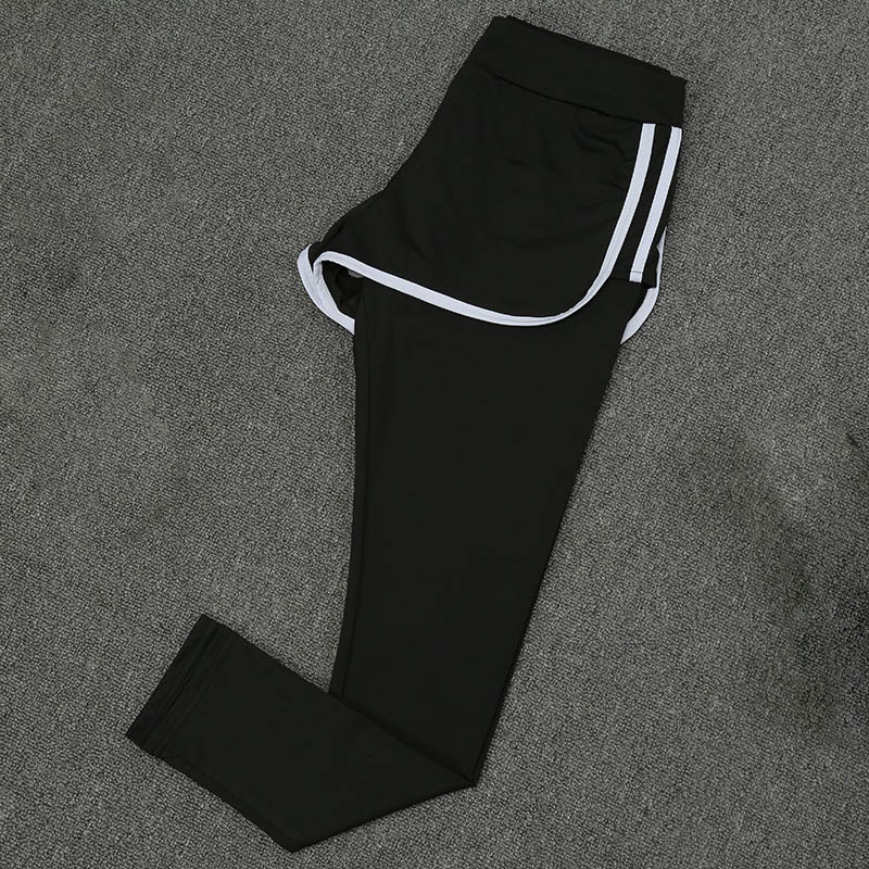Women 39 s Fitness Yoga Suit Quick drying Sports Pants Outdoor Running Sweat absorbent Slim Stretch Trousers Workout Clothes in Yoga Pants from Sports amp Entertainment