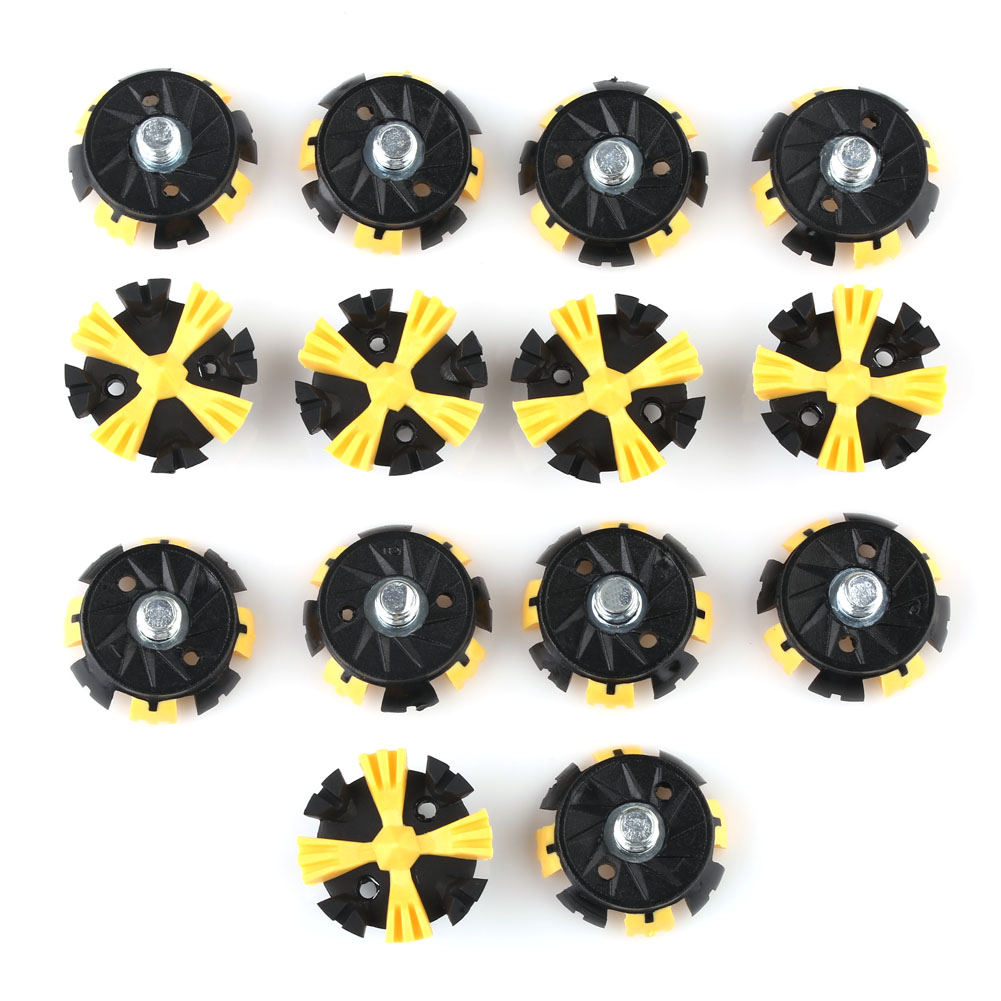 14pcs Replacement Golf Shoes Spikes Cleat Metal Thread Screw Studs For Golf Shoes Free Shipping