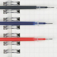 Pen Refill  Wholesale Lots Bulk 10Pcs/lot 0.5mm Black Red and Blue Refills ZXBBX001A