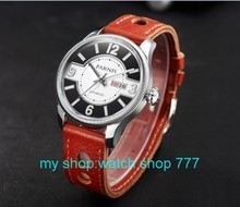 42mm Parnis Sapphire Crystal Dial Automatic Self Wind Movement Men s Watch High quality 2016 new