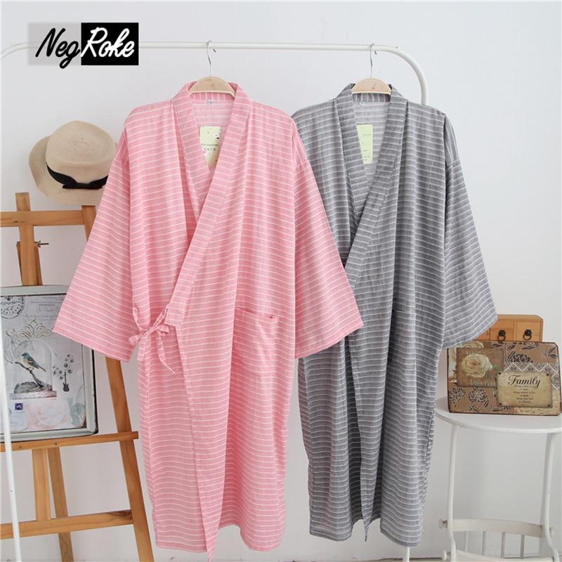 Underwear & Sleepwears Men 100% Cotton Yukata Kimono Suit Men Japanese Traditional Pajamas Set Summer Japanese Style Bathrobe With Shorts 050401 Fast Color Men's Pajama Sets