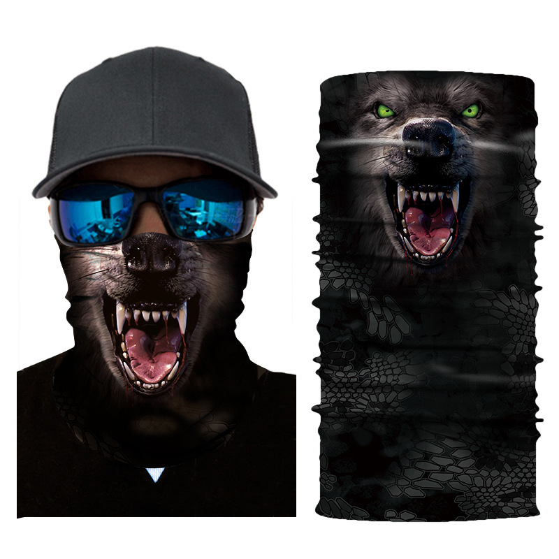 3D Animal Seamless Balaclava Scarf 14