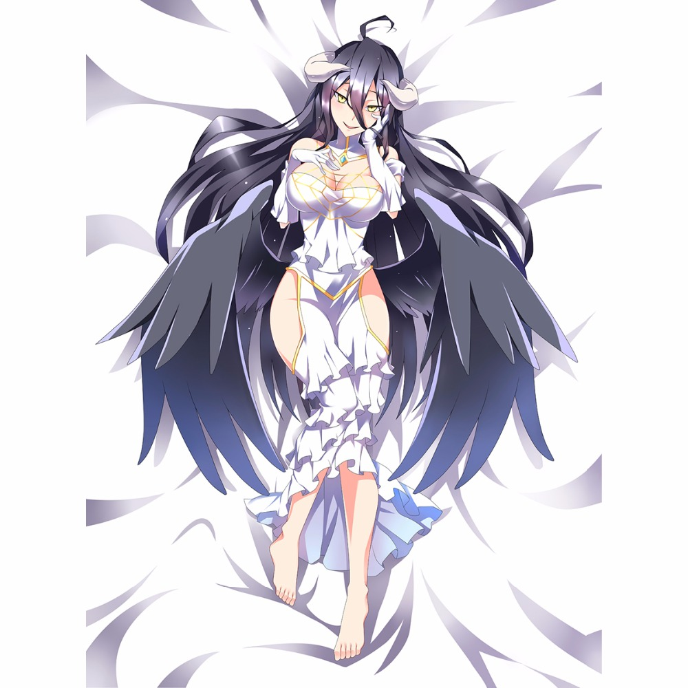 Albedo Overlord Anime 3d Bedding Bed Sheet Bedsheet Quilt