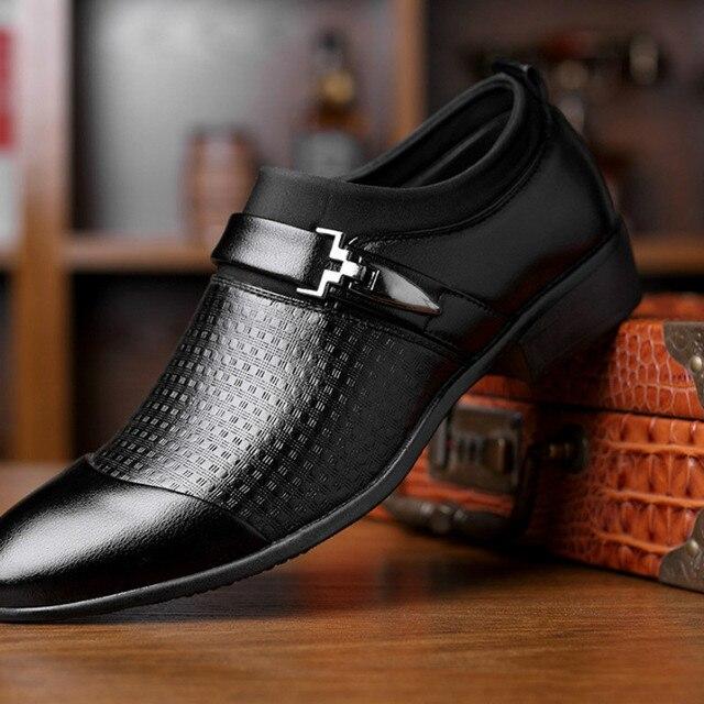 9f4ba03a2f0 2019 Zapatos para hombres mocasines Slip on De Vestir los negocios Hombre  Formal sapato Social