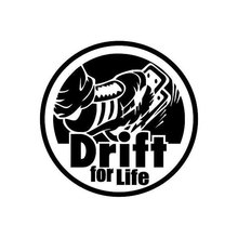 12cm*12cm Drift For Life Car Styling Personalized Window Decal Sticker C5-1613