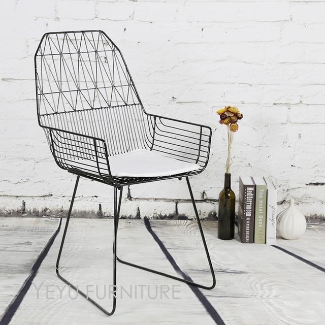 Superb Minimalist Modern Design Metal Wire Chair, Steel Diamond Wire Chair, Loft Metal  Wire Chair
