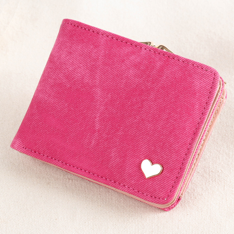 Woman Wallet Coin-Purse Clutch-Card-Holder Small Mini Brand Lady Hasp for Canvas Female