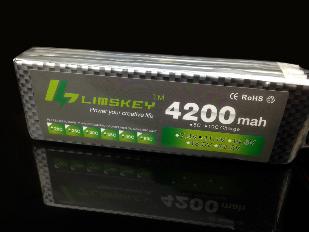 Limskey Power 11.1v 4200mAH 30c For RC Airplanes Helicopter Four Axis RC Car Boat Power T XT60 JST Plug 3s Battery 11.1v Battery