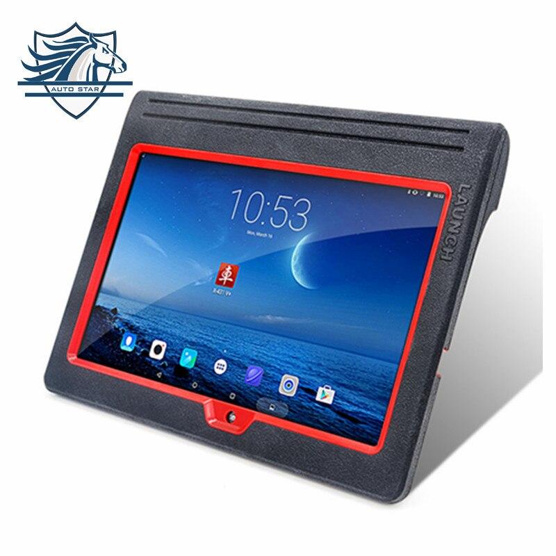 [Autorizado Dearler] 100% original Lançamento X431 V + Wifi Global Versão Scanner Completa do Sistema melhor do que x431 5 DHL frete grátis