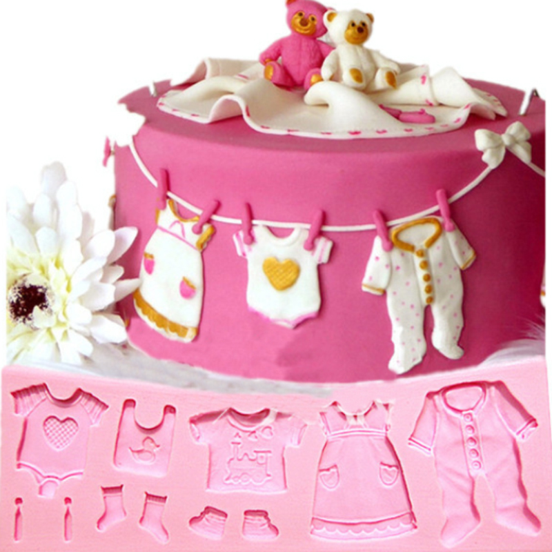 Silicone Baby Molds Cake Decorating