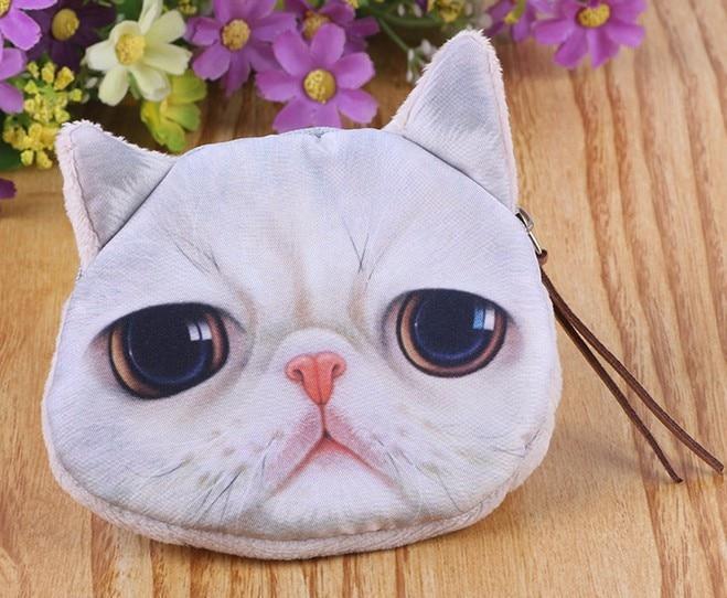 Cat coin purse  cute purse children wallet  kids wallet  kawaii bag  coin pouch   children's purse