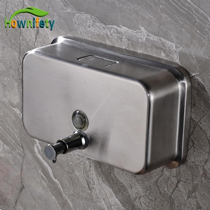 1000 ml Stainless Steel Bathroom Soap Dispenser Wall Mounted Bathroom Hand Soap Box Nickel Brushed cute cartoon rabbit bathroom soap box green