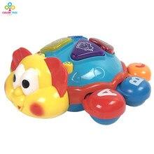 Juguetes para bebés «Tortuga con Luces y Sonidos»