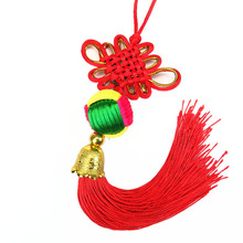 10 Pcs Chinese Knots Blessing Lucky Fortune Knoting Arts and Crafts Gifts Curtain Hang Decorations Pendant 2018