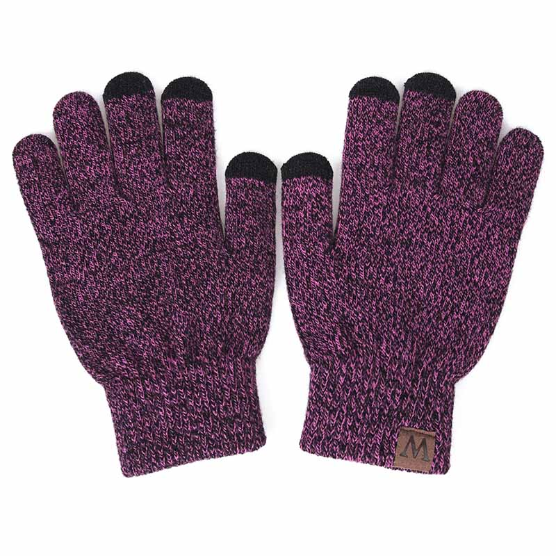 HTB1WTUhXvvsK1Rjy0Fiq6zwtXXan - GROUP JUMP Winter Gloves Women and Men Girls Knitted Mittens Warm Soft Gloves Female Winter Gloves Touch Screen Unisex