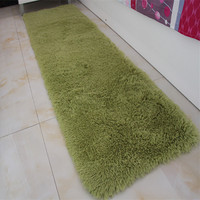 Modern Solid Style Bathroom Carpet Badmat For Kitchen Bedroom Non Slip Bathroom Carpet Pad Soft Colorful Bath Mat Floor Rug