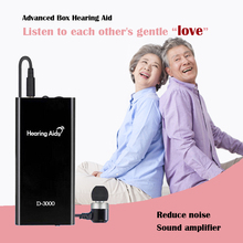 Portable Adjustable Rechargeable Hearing Aid Tone In Ear Sound Amplifier Care Kit for Elderly People