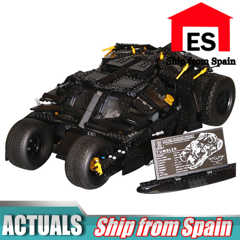 07060 1969pcs Super Herose Movie Building Blocks toys Batman Armored Tumbler kids Bricks toy Compatible with Lego 76023-in Blocks from Toys & Hobbies    1