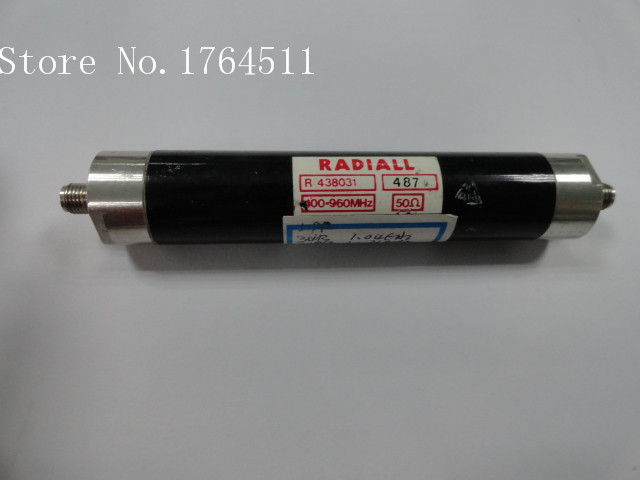 [BELLA] RADIALL R438031 400-960MHz RF Microwave Bandpass Filter SMA (F-F)