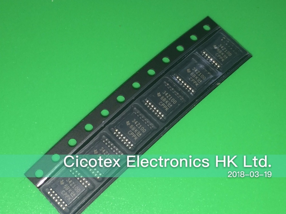3PCS/LOT BQ34Z100PWR-G1 TSSOP14 34Z100 IC BATT MGMT LIION/LPO4 14TSSOP BQ34Z100PW-G1