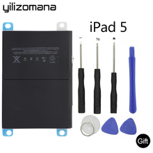 YILIZOMANA Original Tablet Battery For Apple  iPad 5 Air Capacity 8827mAh A1484 A1474 1475 Genuine Replacement battery +Tools