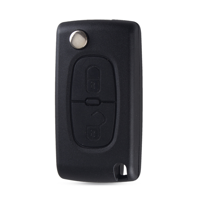Case Chiave per Citroen C2 C3 C4 C6 Berlingo 2 Button Flip Folding Key Shell Ce0523 VA2 Blade Remote Key Shell Auto 2