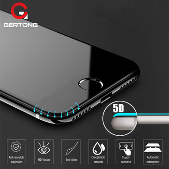 5D Curved Edge Full Cover Screen Protector For iPhone 6 7 6S Plus 11 Pro Max Tempered Glass For iPhone 8 Plus X XR XS Max Glass