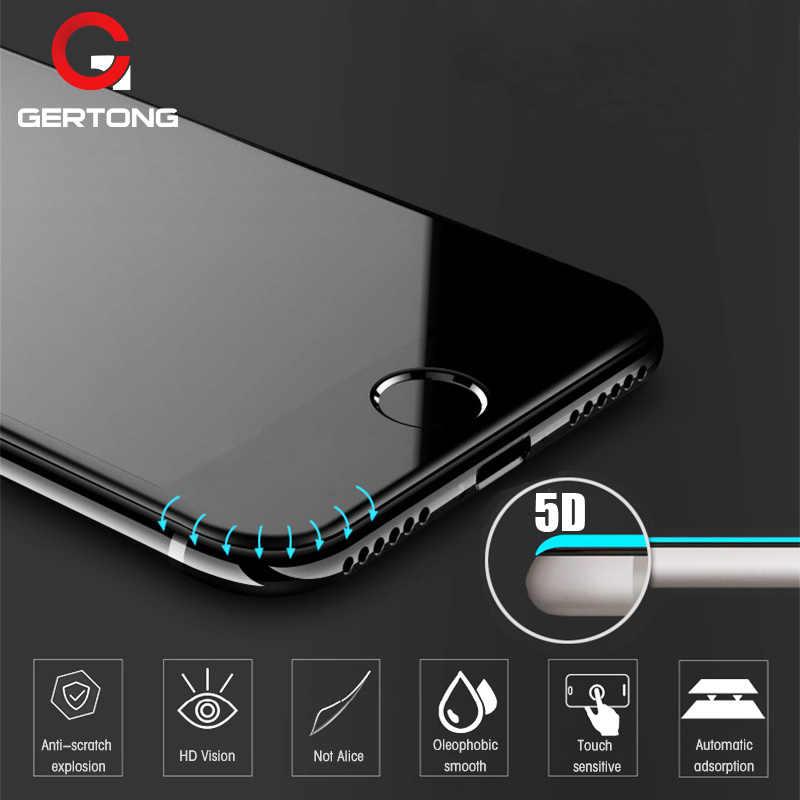5D Gebogene Rand Vollen Abdeckung Screen Protector Für iPhone 6 7 6S Plus 11 Pro Max Gehärtetem Glas Für iPhone 8 Plus X XR XS Max Glas