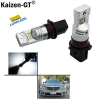 2pcs 6000K Xenon White Powered By Luxeon SH23W LED Replacement Bulbs For 2010 And 2011 Mercedes