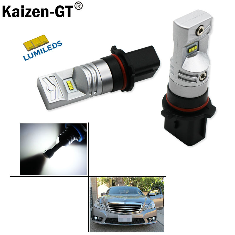 2pcs 6000K Xenon White Powered By Luxeon SH23W  LED Replacement Bulbs For 2010 and 2011 Mercedes W212 C207 A207 E350 E5502pcs 6000K Xenon White Powered By Luxeon SH23W  LED Replacement Bulbs For 2010 and 2011 Mercedes W212 C207 A207 E350 E550