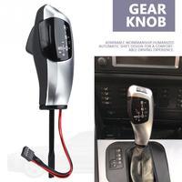 Car LED Shift Knob LHD Automatic LED Gear Shift Knob Shifter Lever for BMW E46 E60 E61 E63 E64