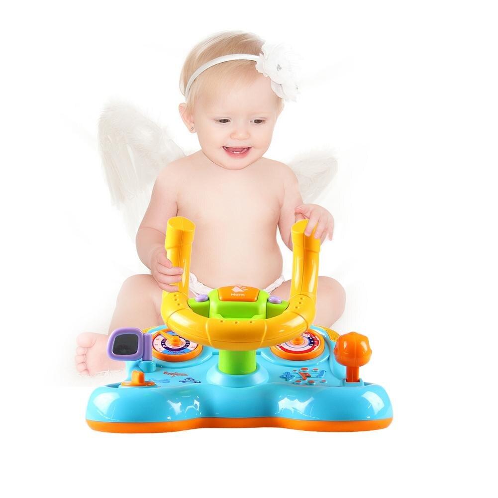 Enfants Éducation de Son et Lumière de Déformation Avec Vibration Volant Jouet