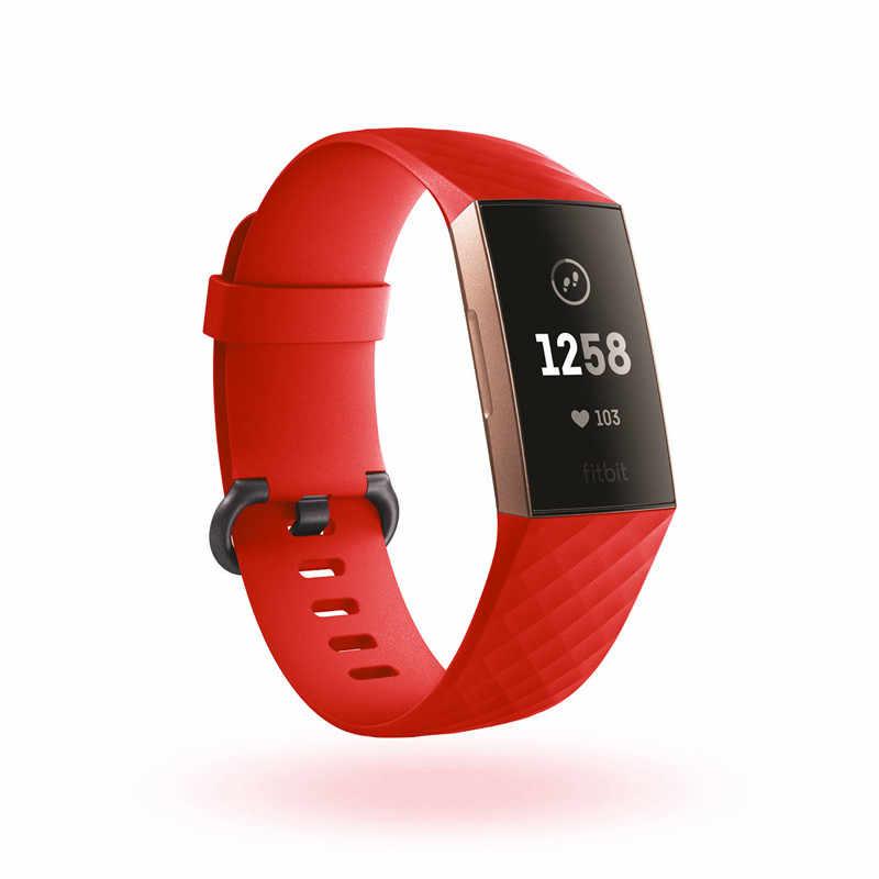 Delle donne Degli Uomini Della Cinghia Del Braccialetto per Fitbit Carica 3/Carica 4 Banda di Sostituzione Watch Band per Fitbit Carica 3 Intelligente accessori Per orologi