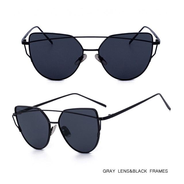 ec30036922a ISummer 2018 Fashion Cat Eye Sunglasses Women Mirror Barbie Pink Ladies  Sunglasses Male Metal Sun Glasses Men Glasses gafas