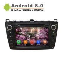 1024 600 Android 8 0 car DVD GPS apply to Mazda 6 Ruiyi Ultra 2008 2009