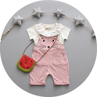 Hot Selling New Arrival Baby Girls S Nice Quality Style Strap Suit Chorea Child Clothes Coats