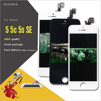 Ovsnovo LCD Pantalla For IPhone 4s 5 5s 5c SE LCD Display Screen Digitizer Replacement Assembly