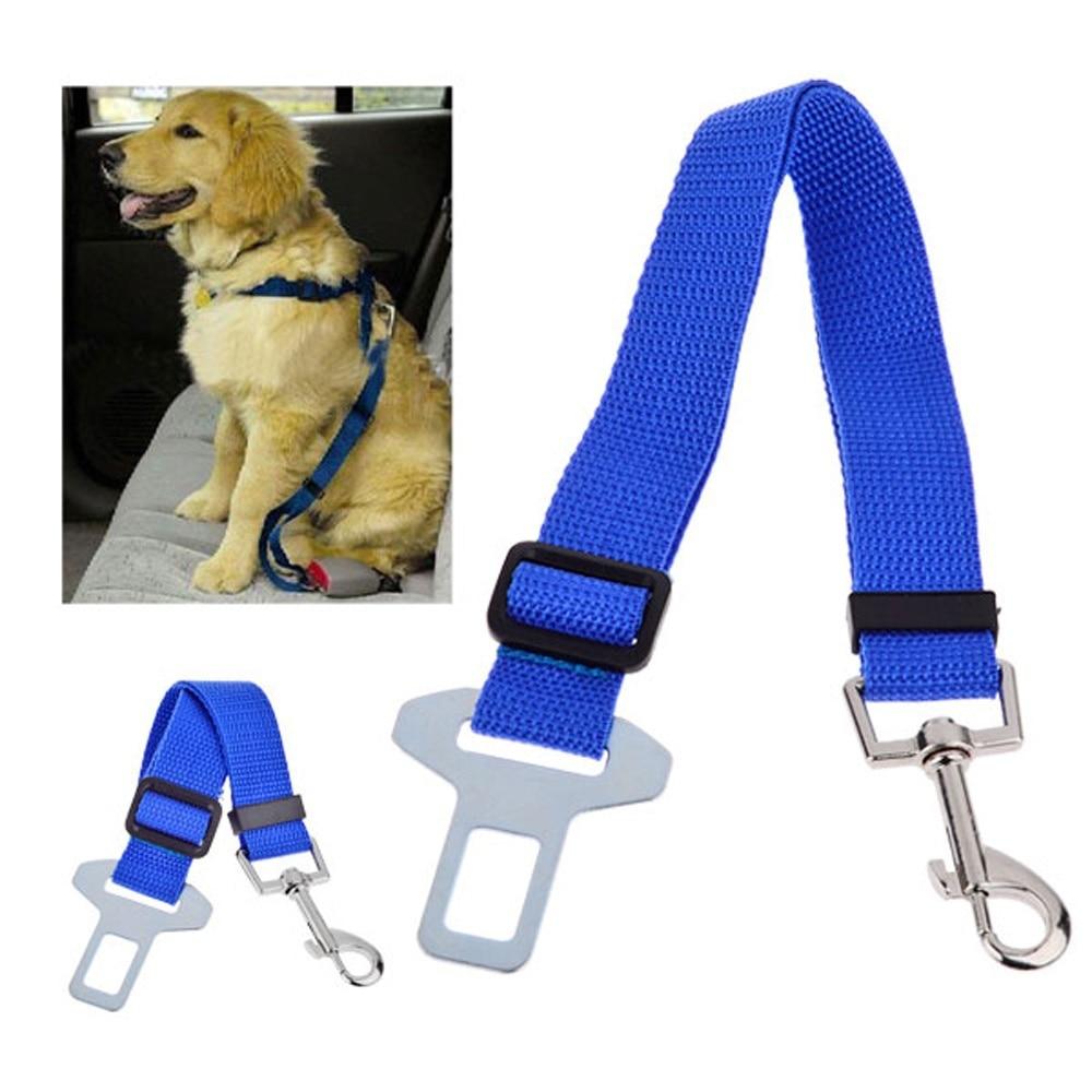 Állítható kutya macska kisállat autó biztonsági biztonsági öv - Pet termékek