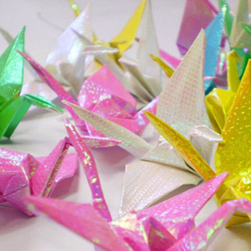 Lower Price with Origami Paper For Diy Handmade Cranes Children Diy Animal Valentine Gift Paper Crafts Mix Color Paper Crafts 10pcs/lot Superior Materials Puzzles & Games Puzzles
