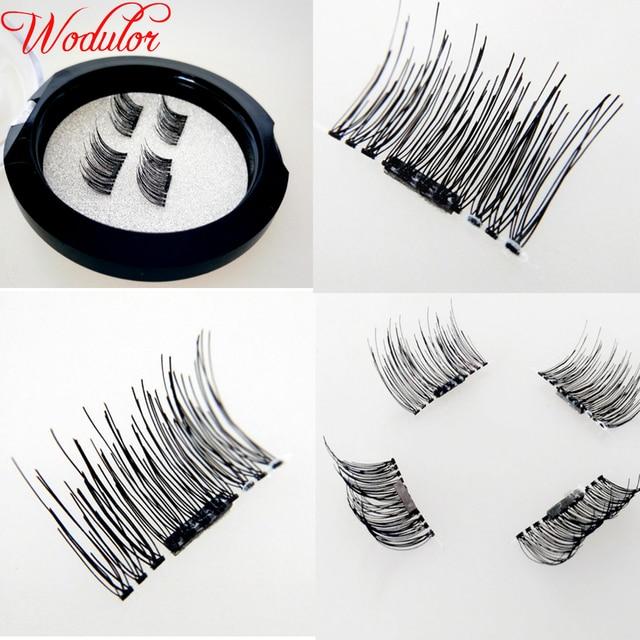 8908b7c4e34 2pairs/8pcs wholesale price prime silk lash eyelash extensions korea  natural magnetic false eyelashes manufacturer