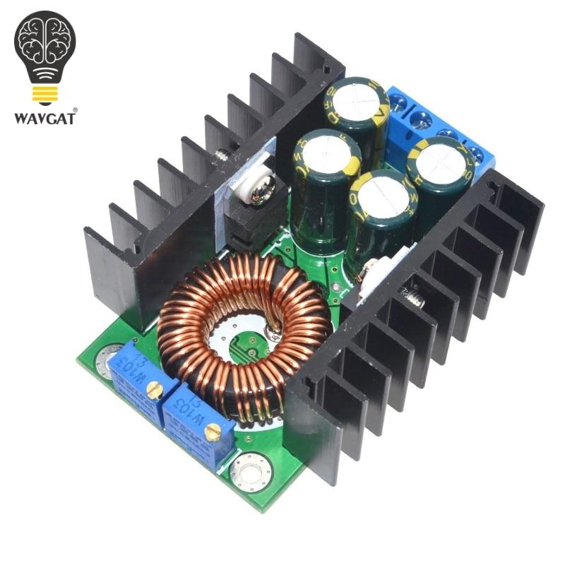 DIY WAVGAT Electric Unit High Quality C-D C CC CV Buck Converter Step-down Power Module 7-32V To 0.8-28V 12A 300W XL4016