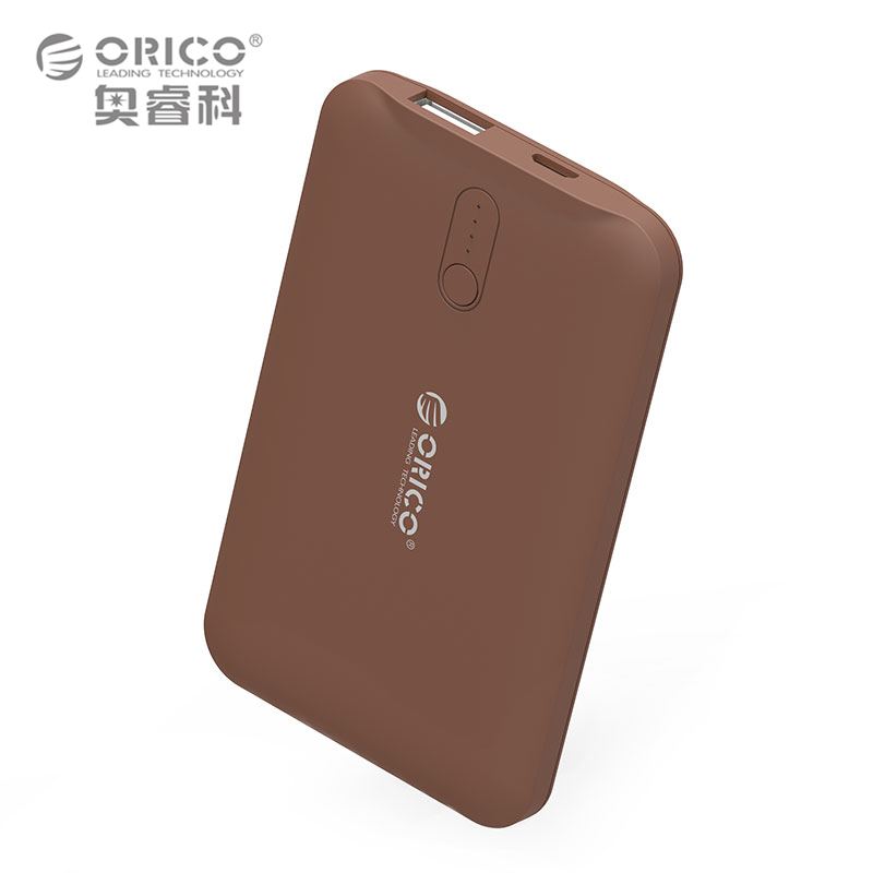 ORICO 2500mAh Power Bank Portable Mobile Phone Charger Powerbank For Smart Phones External Battery 3 Colors