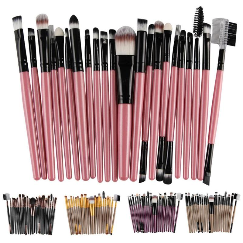Makeup Brushes Set Cosmetic Tools Professional Eyeshadow Powder Brush Make-up Toiletry Kit Wool Make Up Brusher brush W20 new professional 15 pcs makeup brushes set tools make up toiletry kit make up brush set case cosmetic foundation brush
