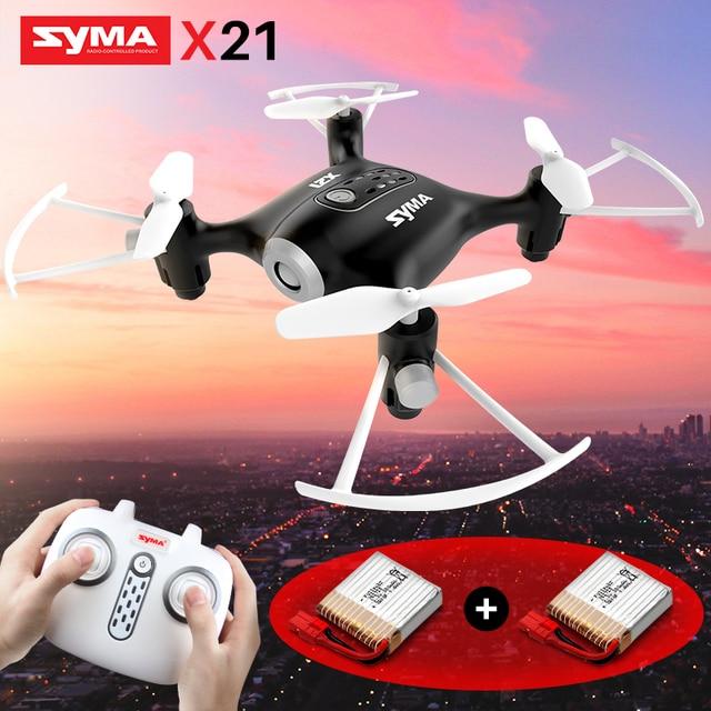 SYMA X21 Fernbedienung Hubschrauber RC Drone Quadcopter Mini Drohnen Flugzeuge 6 aixs Gyro Eders Headless modus Spielzeug Für Kinder