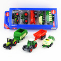 Free Shipping/Siku/Diecast Toy Car Model/Fendt and Claas Agriculture Farm Tractor Gift Set/Educational/Collection/Toy for Child